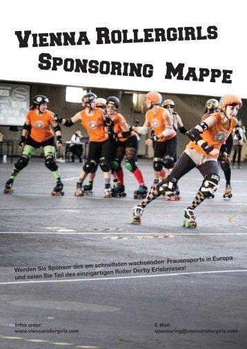Vienna Rollergirls Sponsoring Mappe
