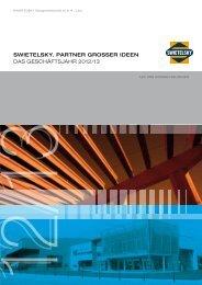 Geschäftsbericht 31.03.2013 - Deutsch - Swietelsky
