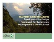 Development by Design Framework for Sustainable Development at ...