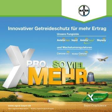 Innovativer Getreideschutz Broschüre (PDF 6,7 MB) - Fungizide