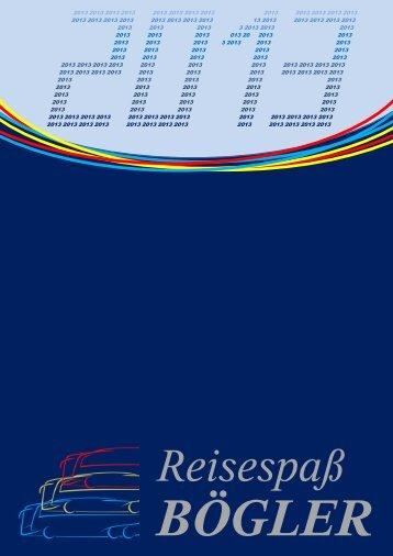 Reisekatalog als PDF herunteladen. - Reisespass Bögler: Home