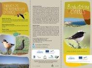 Cyprus Birdwatching Tourism leaflet - Birdlife Cyprus