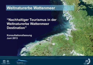 Presentation der Strategie und des Aktionsplanes - Wadden Sea ...