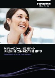 Prospekt KX-NS1000neXTGen 170113 FINAL - Panasonic Business