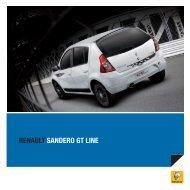 RENAULT SANDERO GT LINE - Convenient