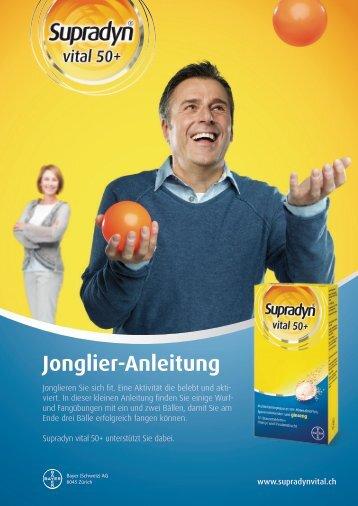 Jonglier-Anleitung - Supradyn