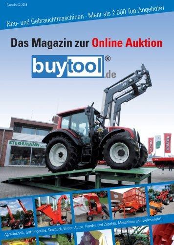 Das Magazin zur Online Auktion - Stegemann Landtechnik GmbH ...