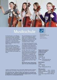 2013-2014 Musikschule - Bildungszentrum Wolfenbüttel