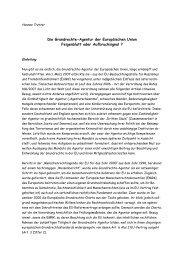Tretter - Kommentar zur EU-Grundrechteagentur