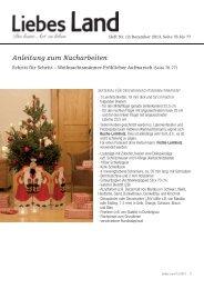 Anleitungen aus Heft 12/2013 Weihnachtsmann - Liebes Land