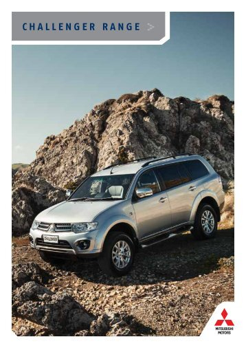 CHALLENGER RANGE - Mitsubishi Motors New Zealand