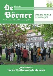 """""""Die Fritze"""" – von der Siedlungsschule bis heute - auf der ..."""