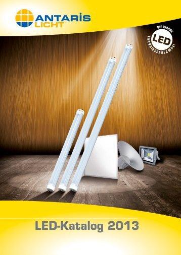 LED-Katalog 2013 jetzt herunterladen - Antaris Licht