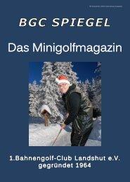 Ausgabe 06/2013 - BGC Landshut
