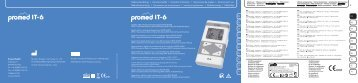 promed_manual_IT6_ 220812_inhalt .indd - Wellnessproducts.ch
