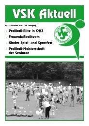 VSK-Aktuell Quartal 3/2013