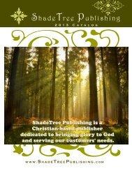 our catalog - ShadeTree Publishing