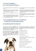 Infomappe herunterladen - Schulungszentrum für Hundetrainer - Seite 6