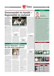 """Werner Wutscher: """"Ich bin für sehr hohe Transparenz"""""""