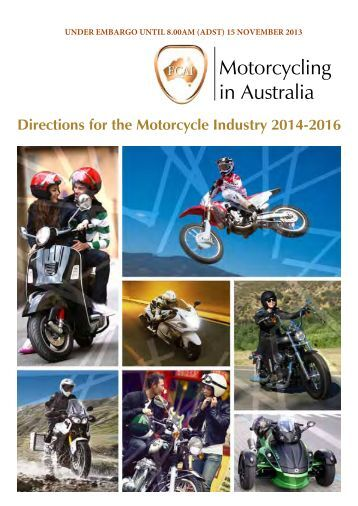 Motorcycling in Australia - Directions for the Motorcycle ... - FCAI
