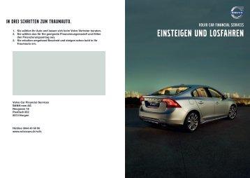 EINSTEIGEN UND LOSFAHREN - Volvo