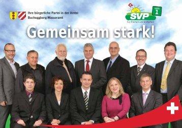 Gemeinsam stark! - SVP Kanton Solothurn