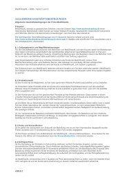 Hier finden Sie unsere Allgemeinen Geschäftsbedingungen in PDF ...