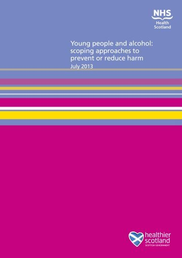 PDF (Young people and alcohol: scoping approaches to prevent or ...