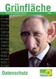 2/2008: Datenschutz - Bündnis 90/Die Grünen Hessen