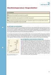 Hochtemperatur-Supraleiter - Max-Wissen