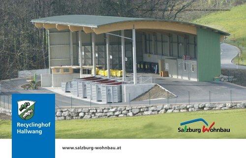 Recyclinghof Hallwang - Salzburg Wohnbau