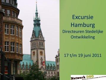 Excursie Hamburg - Netwerk Directeuren Stedelijke Ontwikkeling