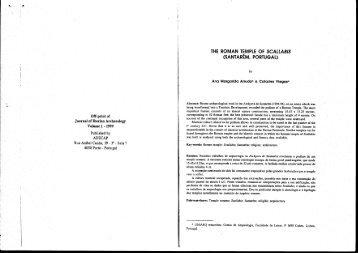 THE ROMAN TEMPlE OF SCALLAB/S - Associação de Estudo e ...