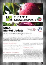 Apple Grower Update December 2013 - ENZA Tech