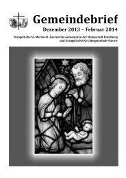 2013-12-2014 02-Gemeindebrief-online. - Havelberger Dom