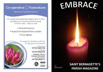 SAINT BERNADETTE'S PARISH MAGAZINE - saintbernadettes.net