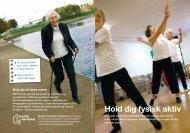 Faldfoldere: Hold dig fysisk aktiv - Sund By Netværket