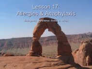 Lesson 17: Allergies and Anaphylaxis - Bsa-troop139.org
