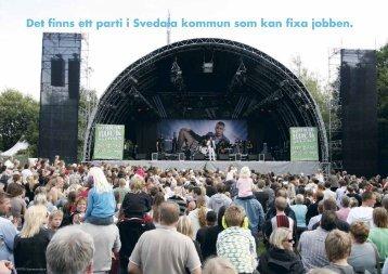 Det finns ett parti i Svedala kommun som kan fixa ... - Gunilla Nordgren