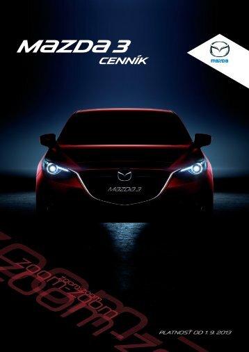 Cenník (PDF) - Mazda