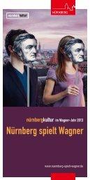 Programmfolder - Nürnberg spielt Wagner