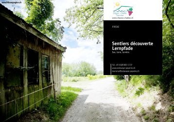 Sentiers découverte Lernpfade - Gadmin.ch
