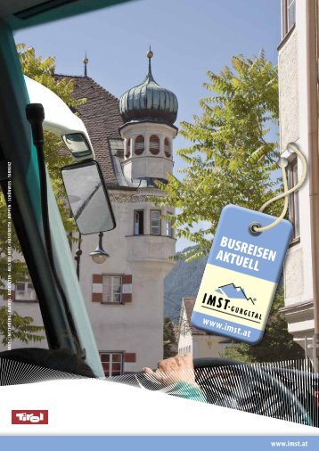 AUSFLUGSzIELE - Imst Tourismus