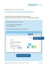 Diesen Leitfaden als pdf-Dokument herunterladen - AmbulanzPartner