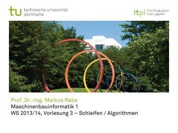 BNF / Algorithmen / Schleifen