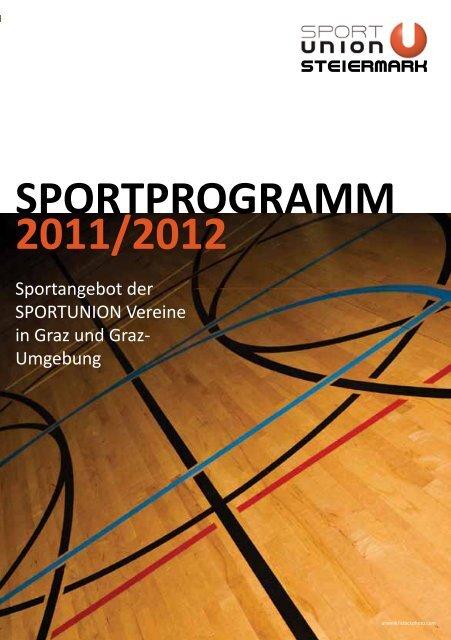 2011/2012 SPORTPROGRAMM - SPORTUNION Steiermark