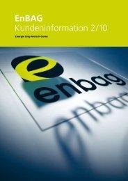 Informationsblatt EnBAG – 2/10 - EnBag AG