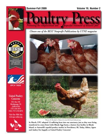Click here for PDF - United Poultry Concerns