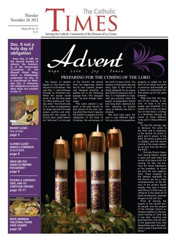 NEWS - The Catholic Times