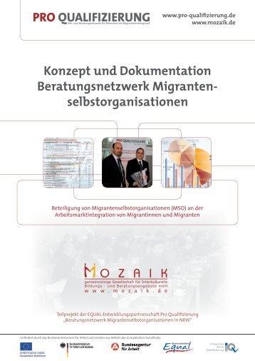 Konzept und Dokumentation Beratungsnetzwerk Migranten ...